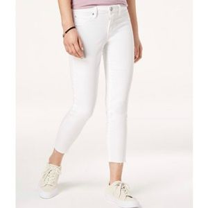 Articles of Society NWT Skinny Crop Jeans Raw Hem